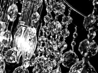 Photo-a-day #360: December 26, 2011 - Chandelier Abstract