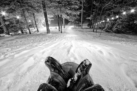 Photo-a-day #365: December 31, 2011 - New Year's Eve Sledding